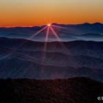 1695 November Sunrise, Clingman's Dome