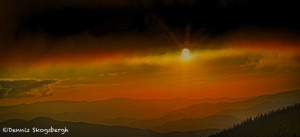 1731 Sunset, Clingman's Dome