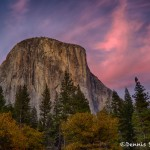 1745 November Sunset, El Capitan