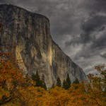 1753 El Capitan, Autumn Color, Brewing Snow Storm