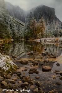 1772 'Valley View', El Capitan, November Snow