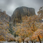 1775 El Capitan, Autumn Color, Recent Snow