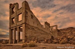 1805 Rhyolite Ghost Town Bank Building