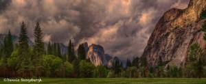 1815 June Storm Clouds, Yosemite Valley