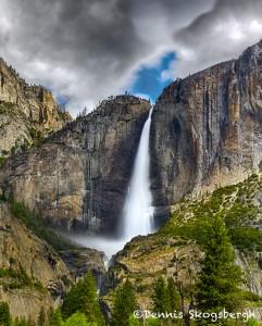 1817 Upper Yosemite Falls, June