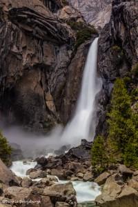 2308 Lower Yosemite Falls, June