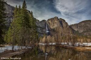 4248 Yosemite Falls from Swinging-Bridge, Yosemite National Park, CA