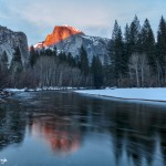 4254 Sunset, Half Dome, Yosemite National Park, CA
