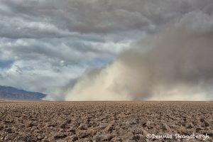 5540 Sand Storm Over Devils Golf Course, Death Valley National Park, CA