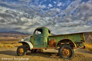 5545 Sunset, Abandoned Truck, Ballarat, CA. (Charles Manson Family truck) near Death Valley National Park, CA