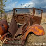 5546 Rusting Abandoned Vehicle, Death Valley National Park, CA