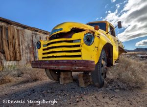 5552 Abandoned Truck, Death Valley, CA