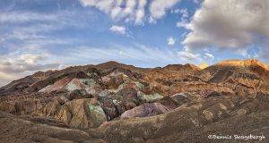 5555 Sunset, Artist's Palette, Death Valley National Park, CA