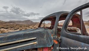 5560 Abandoned Vehicle, Ghost Town Rhyolite, NV
