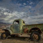 9176 Sunset, Abandoned Truck,(Charles Manson Family truck)