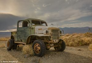 9177 Sunset, Abandoned Vehicle, Ballarat, CA. (Charles Manson Family truck)
