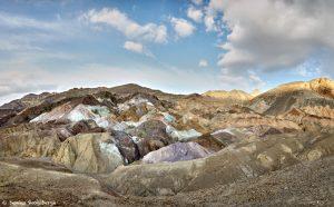 9189 Sunset, Artist's Palette, Death Valley National Park, CA