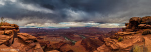 2973 Storm Clouds, Dead Horse Canyon, Dead Horse Point State Park, UT