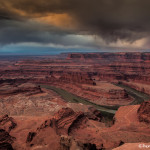 2974 Storm Clouds, Dead Horse Canyon, Dead Horse Point State Park, UT