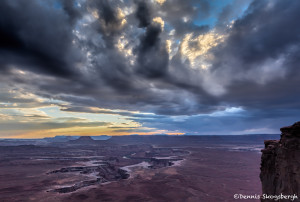 2977 Clearing Storm, Dead Horse Canyon, Dead Horse Point State Park, UT
