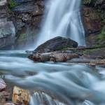 5294 Baring Waterfall, Glacier National Park, Montana
