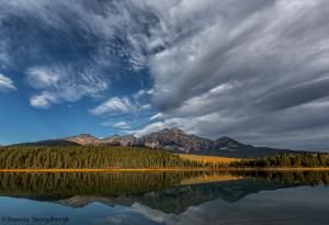 2994 Pyramid Mountain, Patricia Lake, Jasper National Park, Alberta, Canada