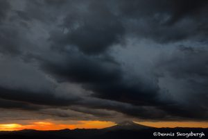 5368 Sunrise, Storm Clouds, Mt. Hood, OR
