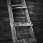 5378 Ladder, Historic Site, Central Oregon