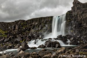 6140 Öxarárfoss Waterfall, Thingvellir National Park, Iceland