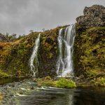 7121 Gjain Waterfall, Thjorsardalur, Iceland