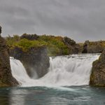 7124 Hjalparfoss Waterfall, Iceland