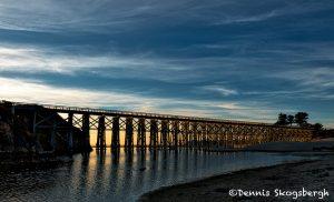 6079 Sunset, Pudding Creek Trestle, Ft. Bragg, California