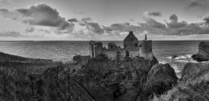 7159 Panorama Dunluce Castle, Northern Ireland