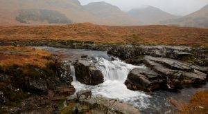 7167 Glencoe Waterfall, Scotland