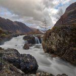 7170 Glencoe Waterfall, Scotland