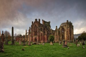 7206 Melrose Abbey, Scotland