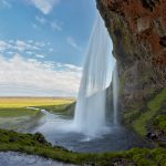 7541 Seljalandsfoss Waterfall, Iceland